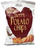 Trafo Sweet Potato Chips - 80 gram - Fried in coconut oil