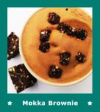 Mokka Brownie ijs