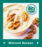 Walnoot Banaan ijs