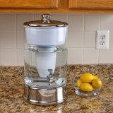 ZeroWater - 9 liter glazen filtersysteem