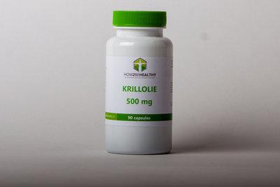 Krill olie 500mg - 90 capsules