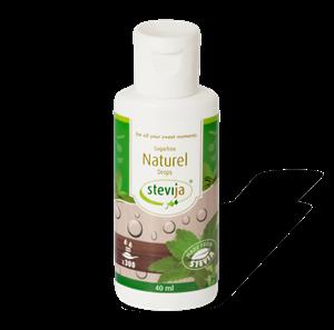 Stevia Vloeibaar Naturel - 40 ml