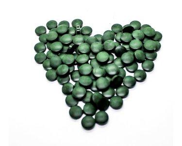 Biologische Spirulina Tabletten 250 gram