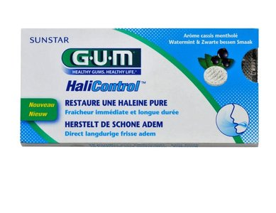 Gum Halicontrol Tabletten - 10 Tabletten