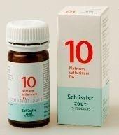Natrium sulfuricum 10 D6 Schussler - 100 tabletten