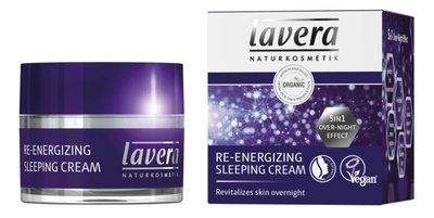 Lavera - Nachtcreme/sleeping cream re-energizing - 50ml