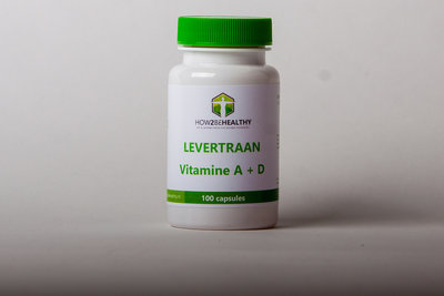 Levertraan Vitamine A+D